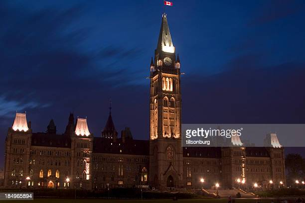 canadian parliament building - parliament building stock pictures, royalty-free photos & images