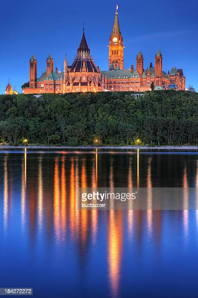 Das kanadische Parlament in Ottawa City