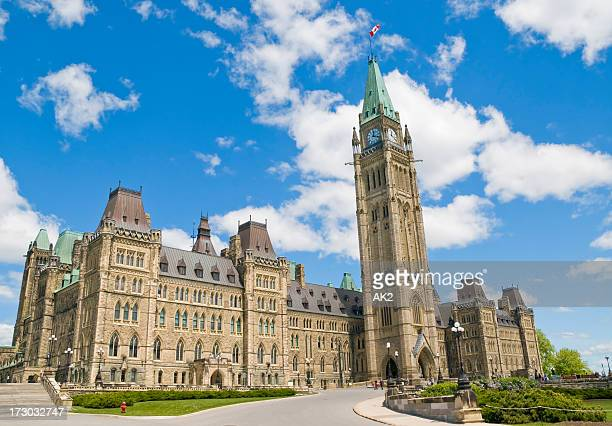 canadian parliament - tower stock pictures, royalty-free photos & images