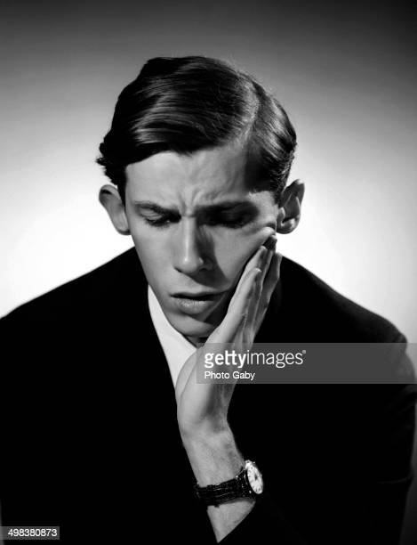 Canadian pianist Glenn Gould , Toronto, Canada, 1956.