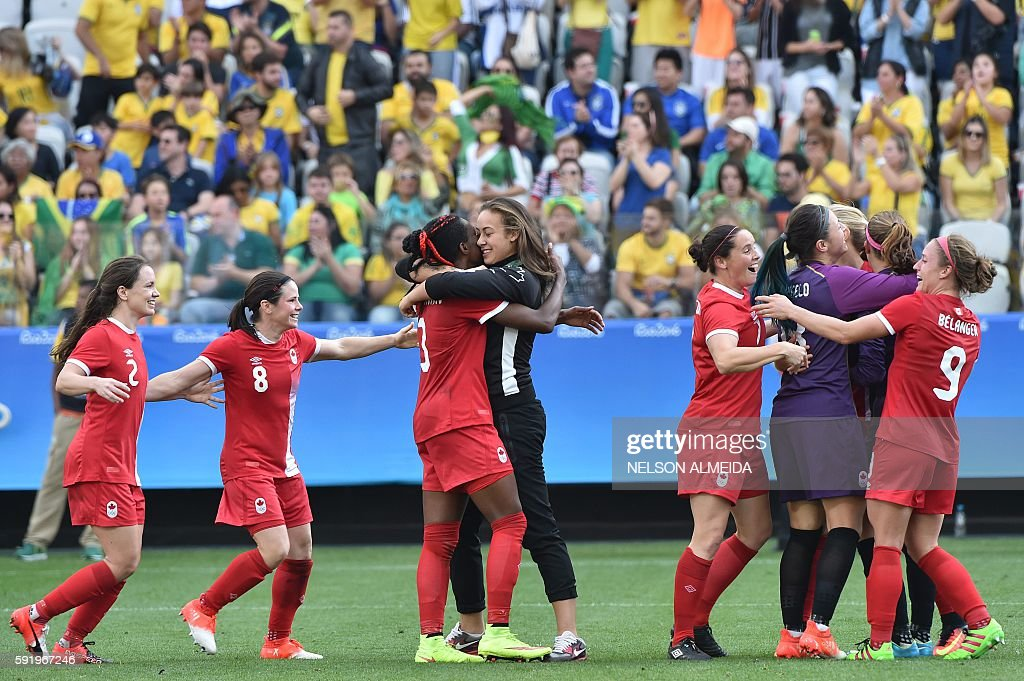 FBL-OLY-2016-RIO-BRA-CAN : News Photo