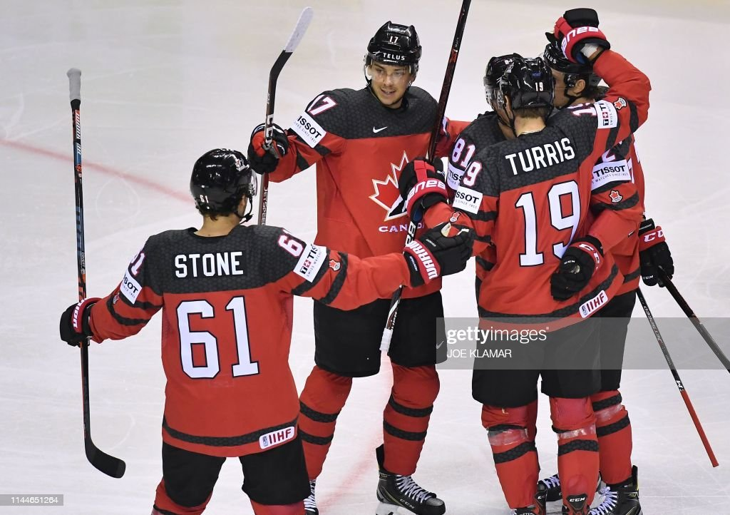 SVK: Canada v Germany: Group A - 2019 IIHF Ice Hockey World Championship Slovakia