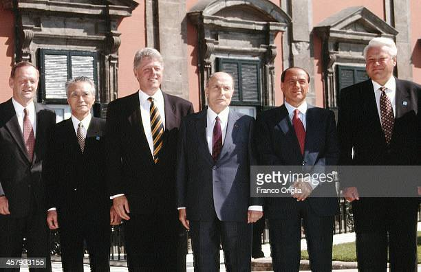 Canadian Prime Minister Jean Chretien Japanese Prime Minister Tomiichi Murayama 42nd President of the United States Bill Clinton French President...