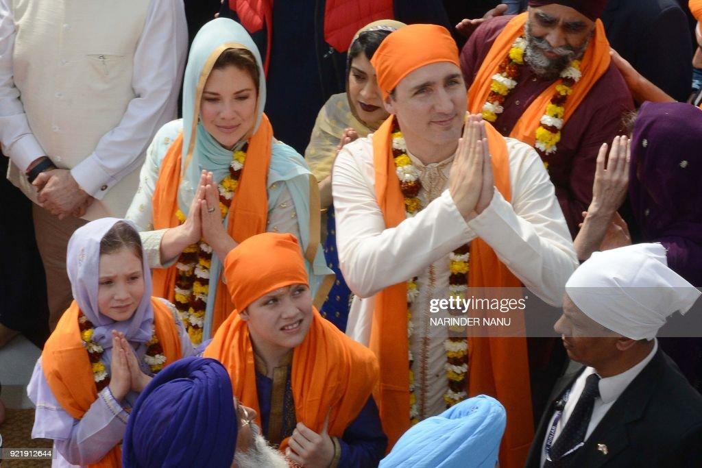 INDIA-CANADA-DIPLOMACY : News Photo