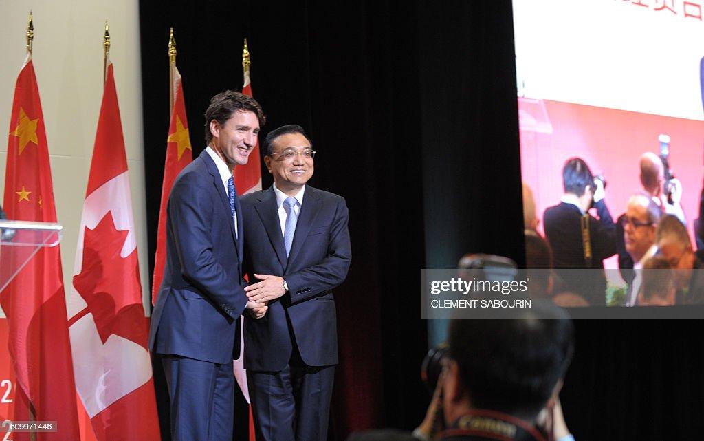 CANADA-CHINA-DIPLOMACY : News Photo