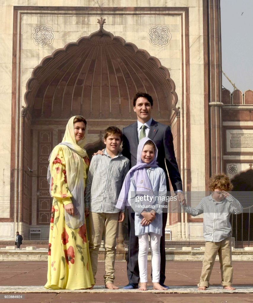 Justin Trudeau In India: Canada Prime Minister Visits Jama Masjid