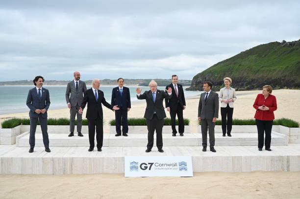 GBR: 2021 G7 Summit - Day One