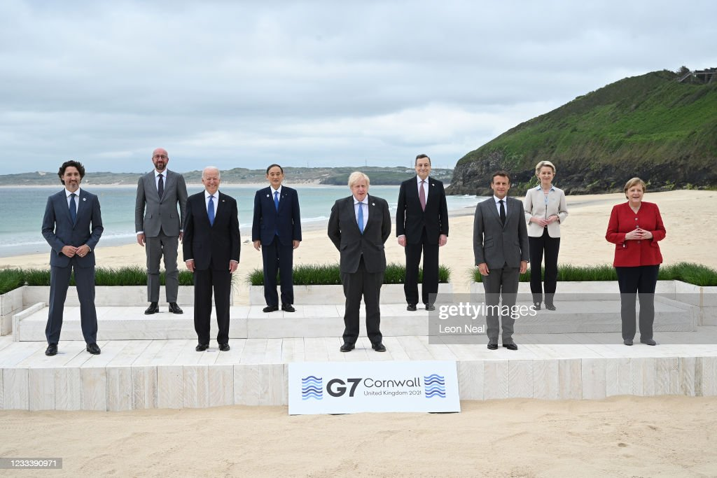 Buildup To June's G7 Summit In Carbis Bay : ニュース写真