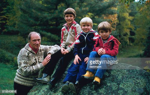 Pierre Trudeau with Sons Outdoors