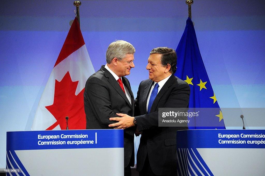 Canada-EU free trade agreement : News Photo