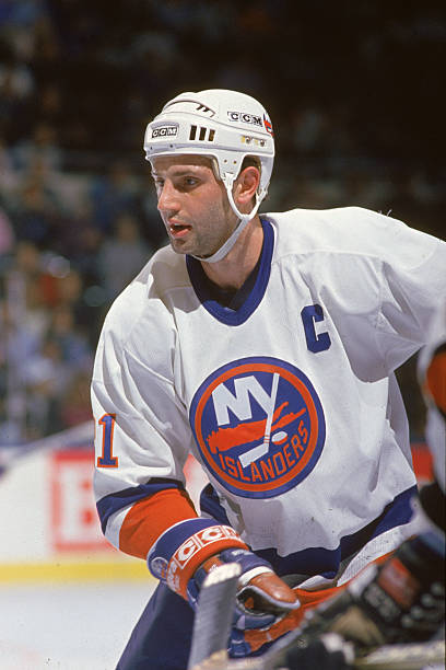 Brent Sutter Of The New York Islanders