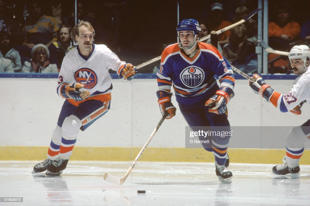 Paul Coffey On The Ice : News Photo