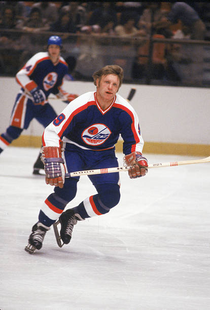 Bobby Hull Of Jets At Madison Square Garden