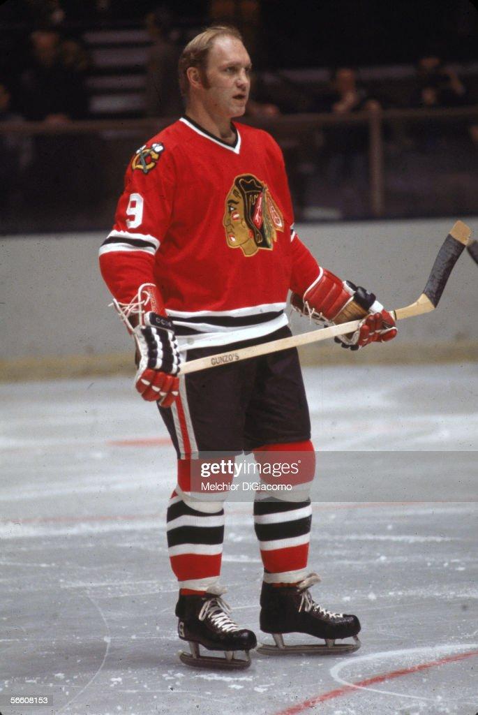 Bobby Hull On The Ice : News Photo