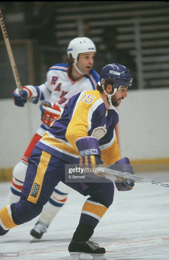 Daryl Evans Of The LA Kings : News Photo