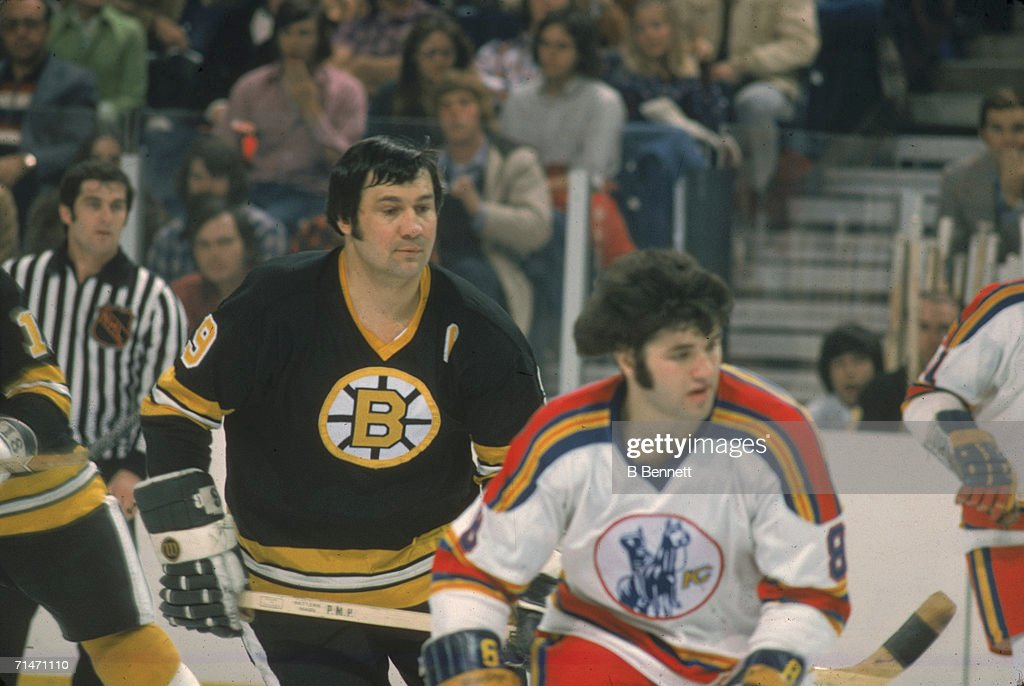 Johnny Bucyk Among The Enemy : News Photo