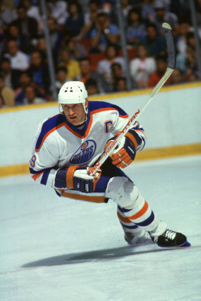Gretzky In Action