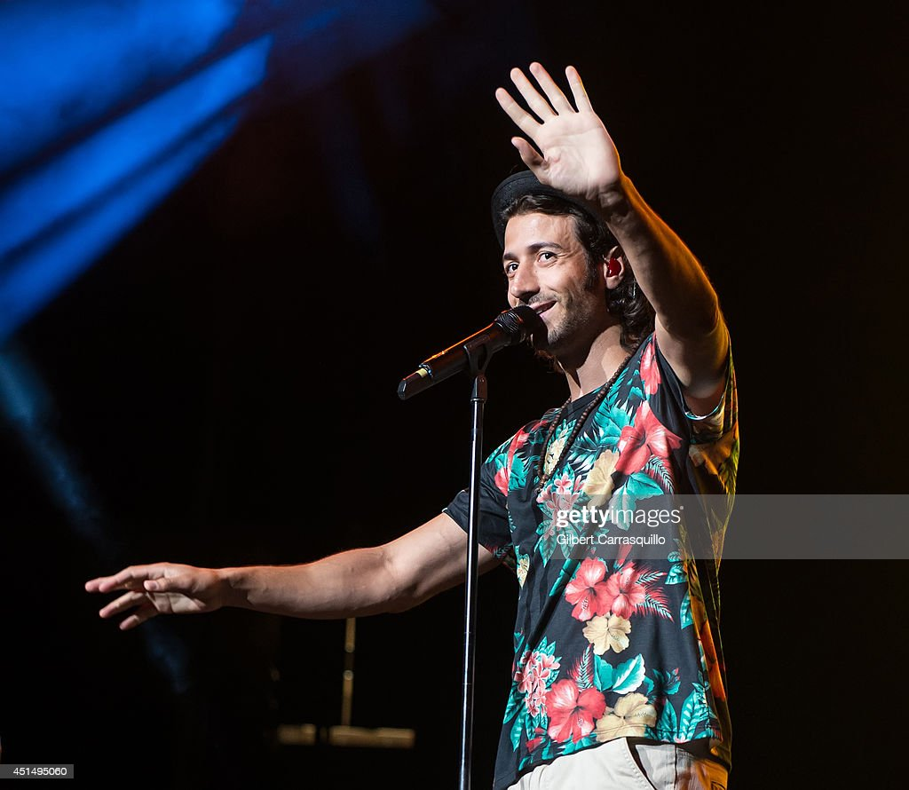 Canadian reggae fusion band Magic! performs during 103.5 KTU's KTUphoria 2014 at the Izod Center on June 29, 2014 in East Rutherford, New Jersey.