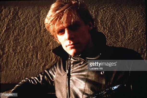 Canadian rock singersongwriter and musician Bryan Adams Rome Italy 1985