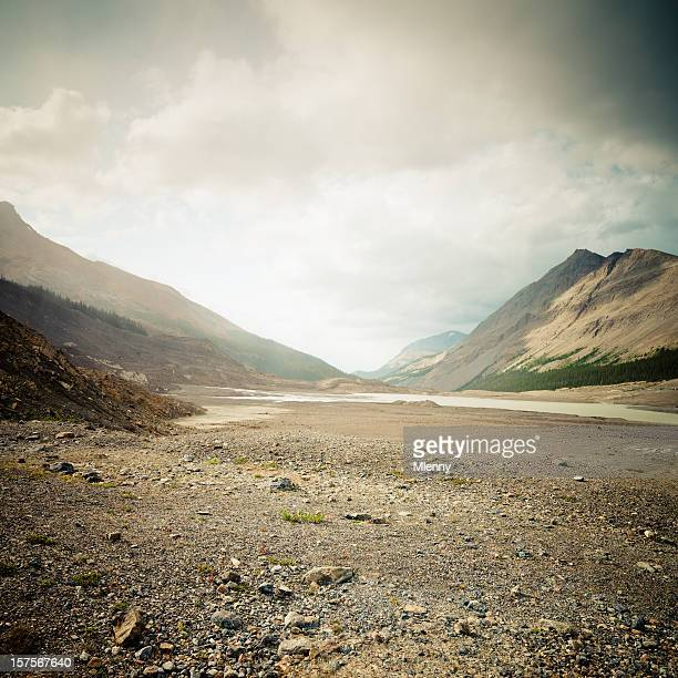 canadian rockies columbia ice field - extreme terrain stock pictures, royalty-free photos & images