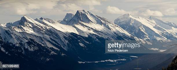 canadian rockies in banff - sulphur mountain stock pictures, royalty-free photos & images