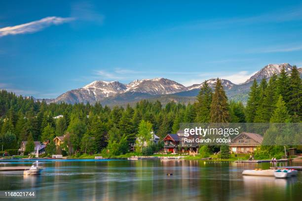 canadian rockies - whistler british columbia stock pictures, royalty-free photos & images