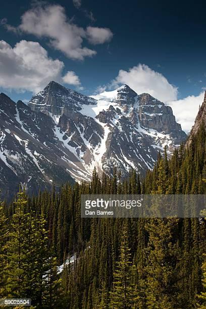canadian rockies - dan peak stock photos and pictures