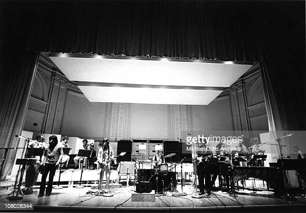Canadian Rock/Jazz/Classical group Lighthouse performs at Carnegie Hall in 1969 in New York City New York