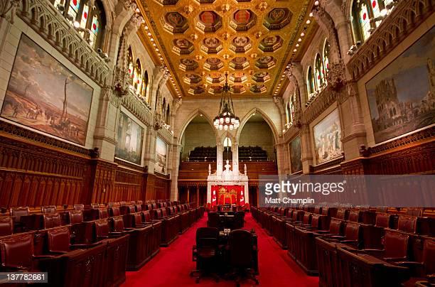 Canadian Senate Chambers
