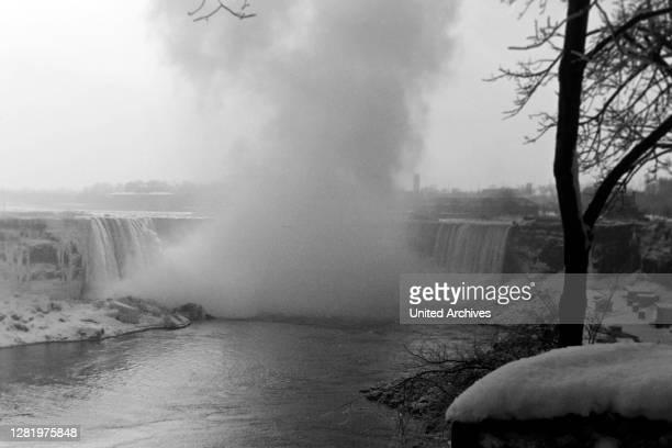 Canadian Side to the Niagara Falls, 1963.