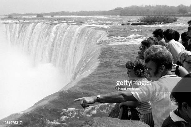 Canadian Side to the Niagara Falls, around 1967.
