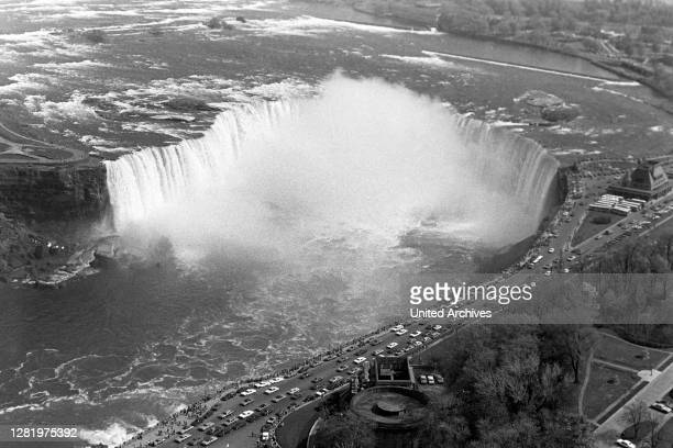 Canadian Side to the Niagara Falls, around 1967.