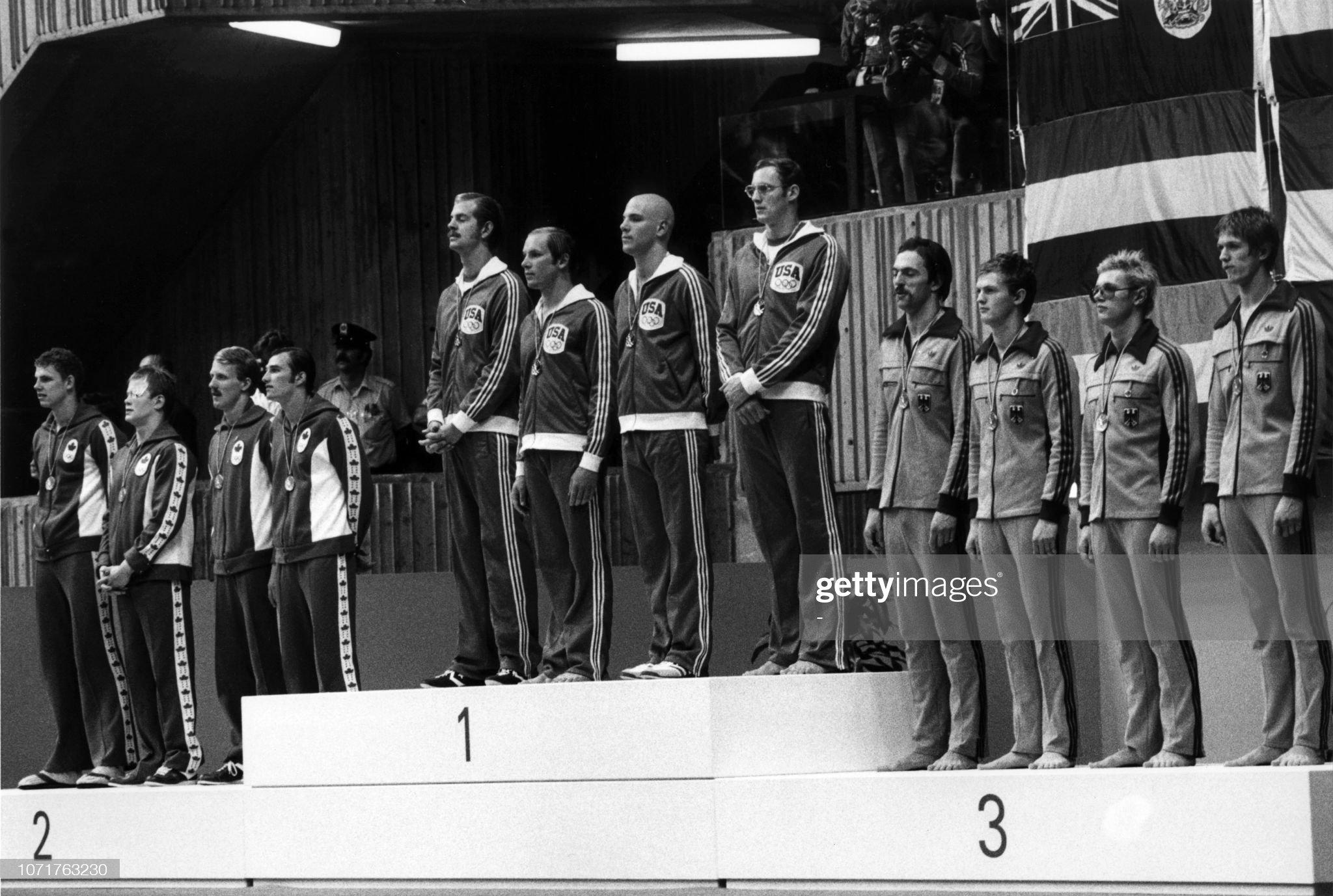 OLY1976-SWIMMING-PODIUM : Fotografía de noticias