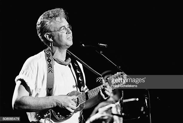 Canadian Singer Bruce Cockburn, vocal, performs at the Melkweg on 2nd June 1992 in Amsterdam, Netherlands.