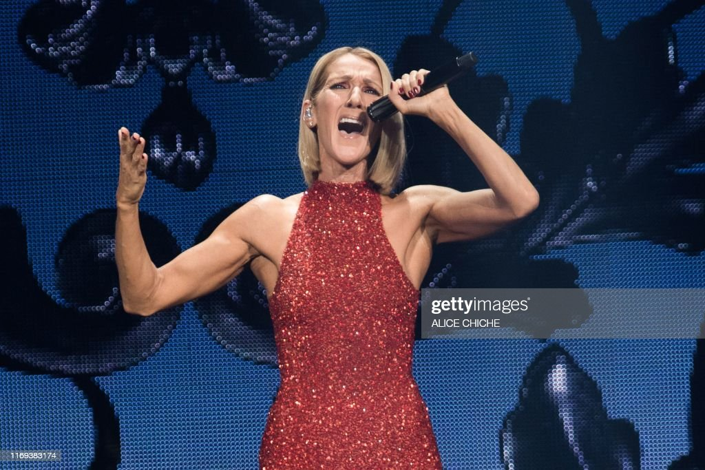 TOPSHOT-CANADA-MUSIC-CONCERT-CELINE DION : News Photo