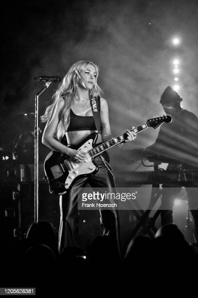 Canadian singer Lennon Stella performs live on stage during a concert at the Columbia Theater on February 11, 2020 in Berlin, Germany.
