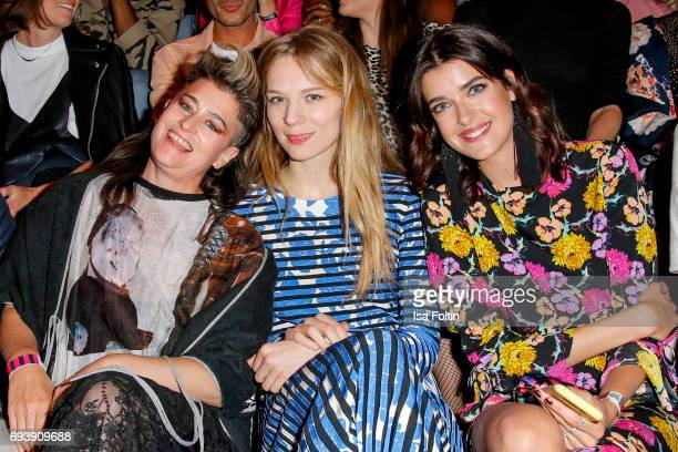 Canadian singer Peaches german actress Lilith Stangenberg and model Marie Nasemann attend the Bread Butter by Zalando 2017 Preview Event on June 8...