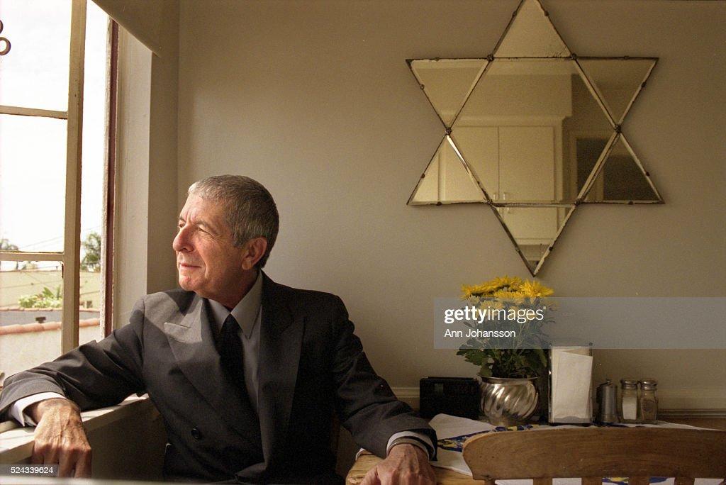 USA - Leonard Cohen in Los Angeles : News Photo
