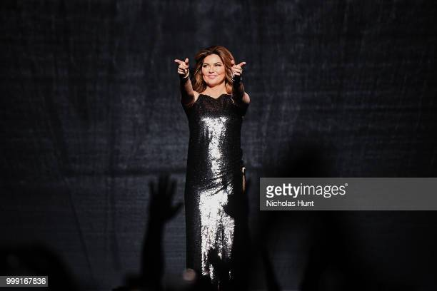 Canadian singersongwriter Shania Twain performs at Barclays Center of Brooklyn on July 14 2018 in New York City