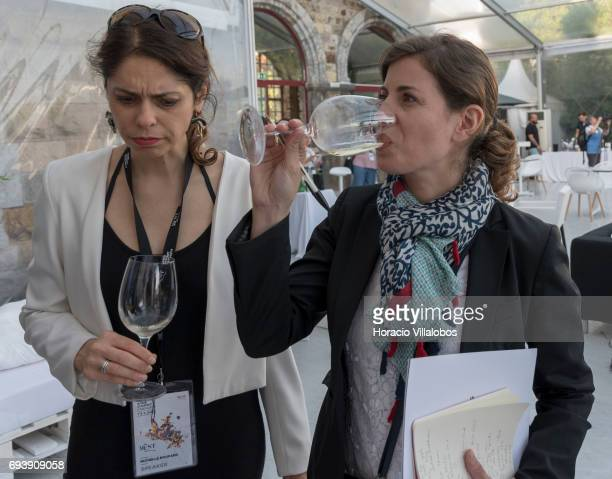 Canadian sommelier Michelle Bouffard president of the board of British Columbia Chapter of the Canadian Association of Professional Sommeliers and...