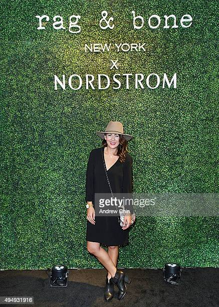 Canadian television personality and interior decorator Jillian Harris attends Rag Bone Personal Appearance And Cocktail Party at Nordstrom Pacific...