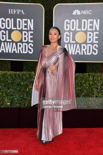 Canadian television personality Lainey Lui attends the 77th Annual Golden Globe Awards at The Beverly Hilton Hotel on January 05 2020 in Beverly...