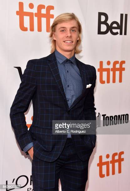 Canadian Tennis Player Denis Shapovalov attends the 'Borg/McEnroe' premiere during the 2017 Toronto International Film Festival at Roy Thomson Hall...