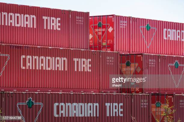 canadian tire distribution centre - canadian tire centre stock pictures, royalty-free photos & images
