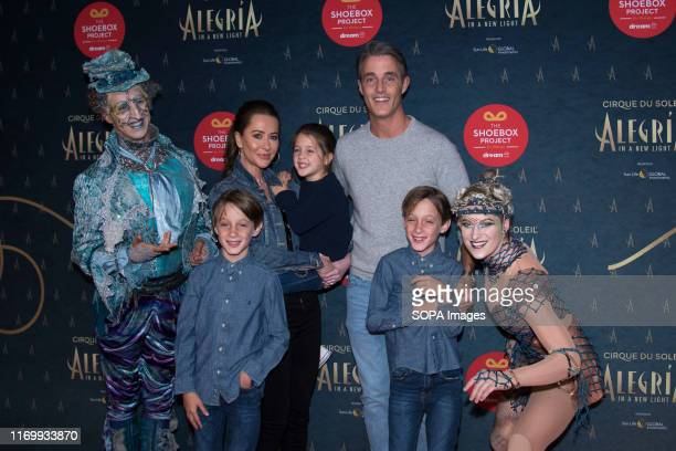 PLACE TORONTO ONTARIO CANADA Canadian TV personality Ben Mulroney his wife Jessica Mulroney and childrens Brian Gerald Alexander Mulroney John...