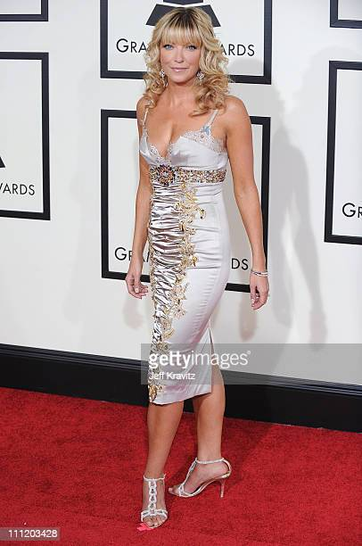 Canadian TV personality Cheryl Hickey arrives to the 50th Annual GRAMMY Awards at the Staples Center on February 10 2008 in Los Angeles California