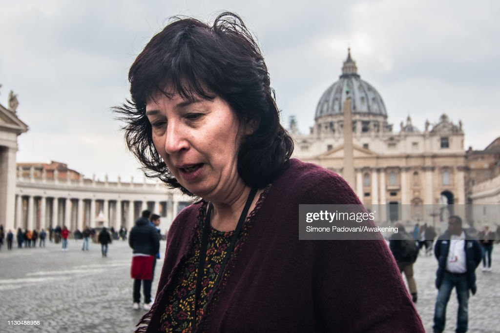 Victims Of The Clergy Sexual Assault In Rome To Attend Pope Francis's Church Abuse Summit : News Photo