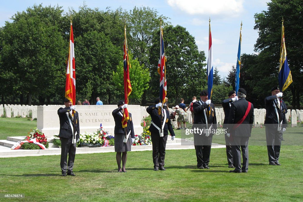 Canadian War Cemetery, Groesbeek - Netherlands : Stock Photo