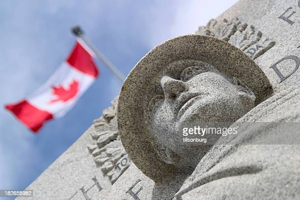 canadian war monument - canada stock pictures, royalty-free photos & images
