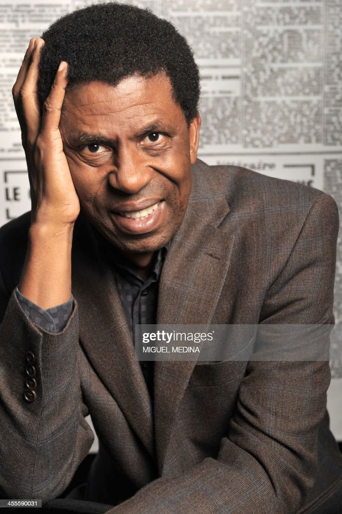 Canadian writer Dany Laferriere poses during the \'Monde des livres ...